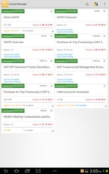 SAP Learn Now apk screenshot