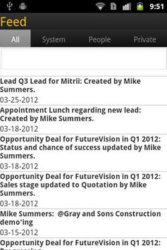 SAP Sales OnDemand apk screenshot