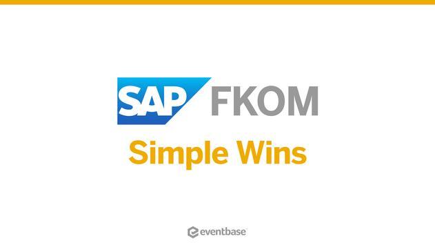 SAP FKOM poster