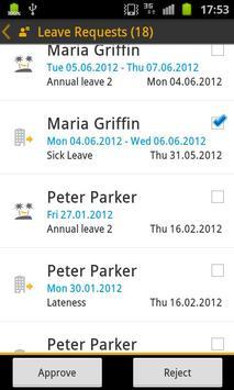 SAP HR Approvals apk screenshot