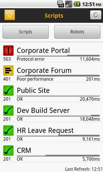 SAP User Experience Monitor apk screenshot