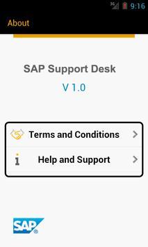 SAP Support Desk apk screenshot