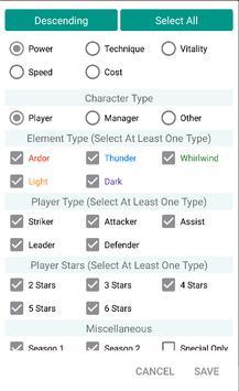 Mini Wiki for Soccer Spirits apk screenshot