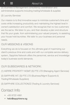 Sapphire Network Pte Ltd apk screenshot