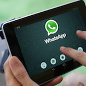 Guide for whatsapp tablet icon