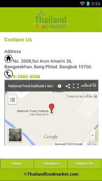 Thailand Food Market apk screenshot