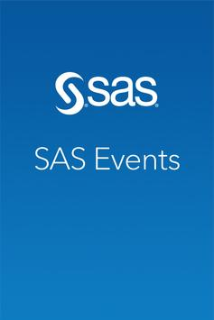 SAS Events poster