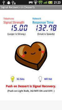 Signal Recovery on Desserts apk screenshot