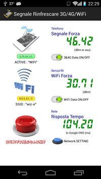 Segnale Rinfrescare 3G/4G/WiFi poster