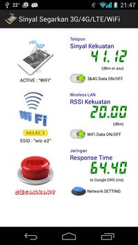 Sinyal Segarkan 3G/4G/LTE/WiFi poster