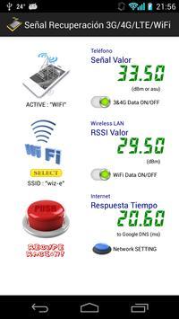 Señal Recuperación 3G/4G/WiFi poster