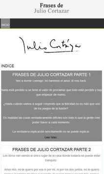 Frases de Julio Cortázar poster