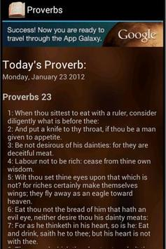 Proverb of the Day poster
