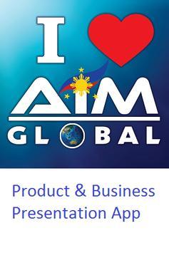 AIM Global Presentation App poster