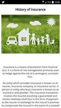 The History of Insurance poster