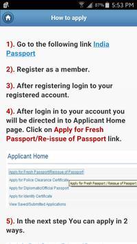 IndianPassport apk screenshot