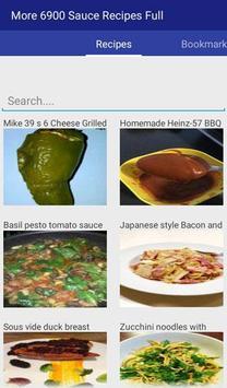Sauce Recipes Full Complete apk screenshot