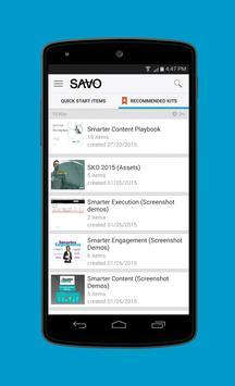 SAVO Mobile Sales Pro poster