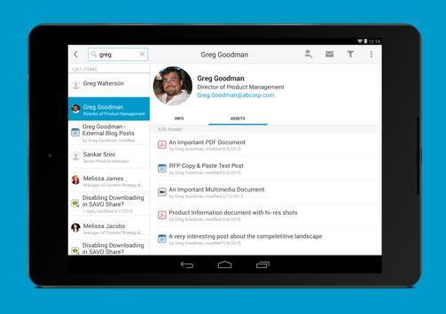 SAVO Mobile Sales Pro apk screenshot