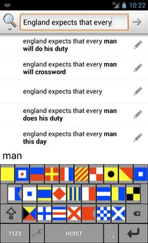 Signal Flags Keyboard poster