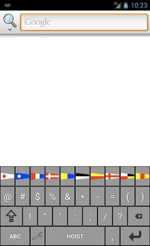 Signal Flags Keyboard apk screenshot