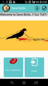Save Birds Surat poster