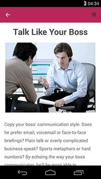 How To Make Your Boss Love You apk screenshot