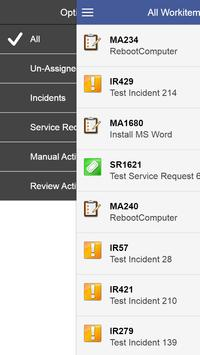 Service Manager Mobile Console apk screenshot