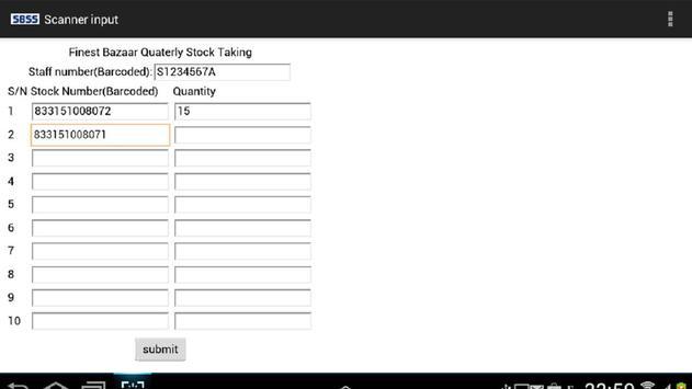 Scanner for HTML forms apk screenshot