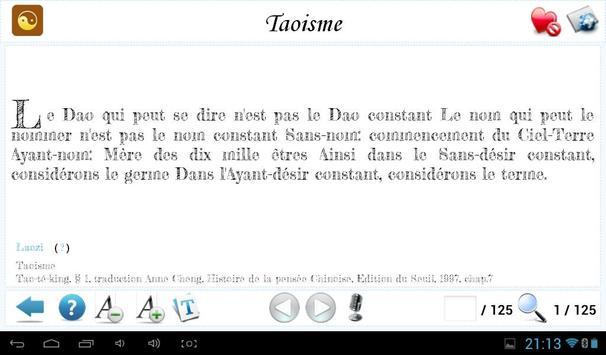 Laozi et le Taoisme apk screenshot