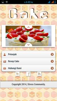 Resep Cake poster