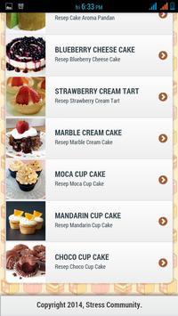 Resep Cake apk screenshot