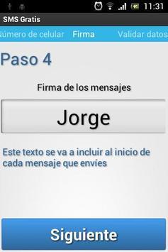 SMS Gratis apk screenshot