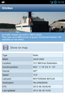 SCA Logistics apk screenshot