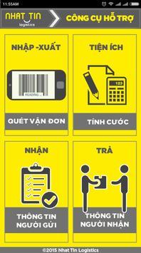 Nhat Tin Logistics poster