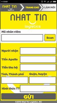 Nhat Tin Logistics apk screenshot