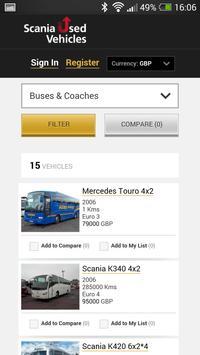 Scania Used apk screenshot