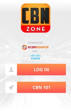 ScanSource CBN Zone - Phone poster