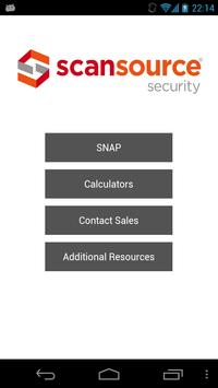 SS Security SNAP App - Phone poster