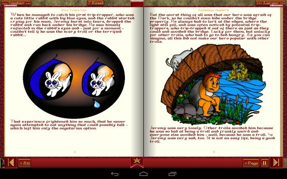 Troll Story Book Free apk screenshot