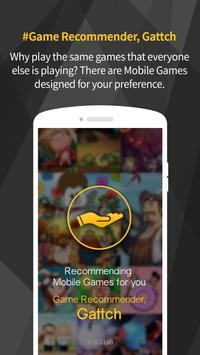 Gattch - the game recommender poster