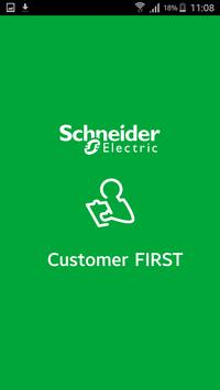 Customer FIRST Benefits poster