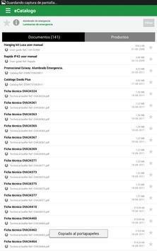 eCatalogo apk screenshot