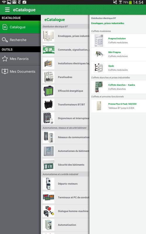 e catalogue schneider electric apk download gratis. Black Bedroom Furniture Sets. Home Design Ideas