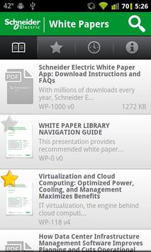 White Papers apk screenshot