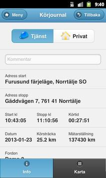 GPSJournal apk screenshot