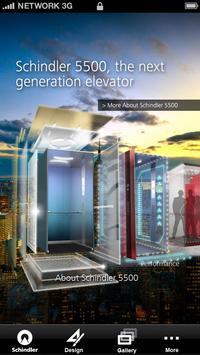 Schindler 5500 Elevator poster