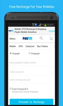 Mobile Recharge Online poster