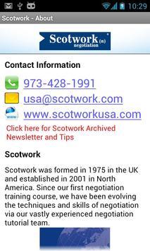 Scotwork apk screenshot