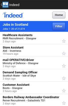 Jobs in Scotland - Edinburgh apk screenshot